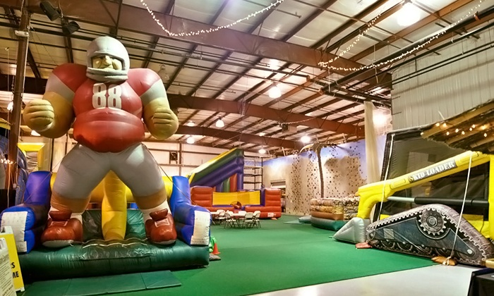 SuperGames - Worthington Village North: Visits to Indoor Playground and Arcade at SuperGames (Up to 54% Off). Three Options Available.