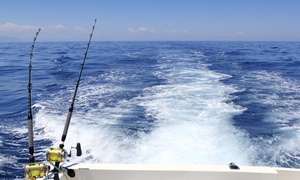Full C's Sportfishing: Four-Hour Deep-Sea Fishing Trip for Two, Four, or Six at Full C's Sportfishing (Up to 54% Off)