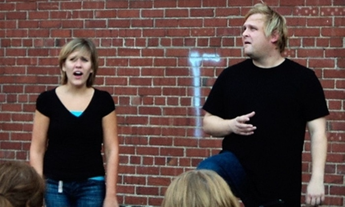 The Skinny Improv - Springfield: Friday- or Saturday-Night MainStage Improv Comedy Show for Two or Four at The Skinny Improv (Up to 58% Off)