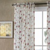Crushed Voile Floral Printed Sheer Extra Long Panel (2-Pack)