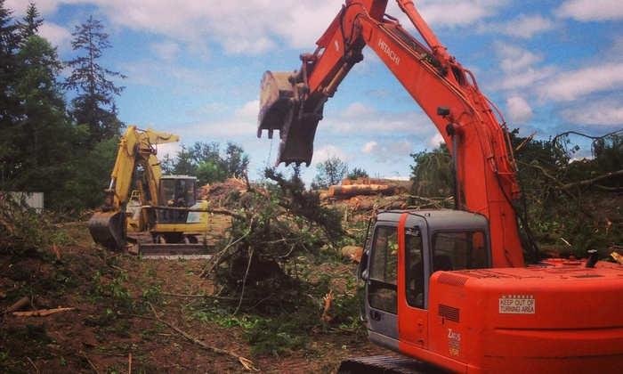 Wooding Excavating - Seattle: $225 for $450 Worth of General-Contractor Services — Wooding Excavating