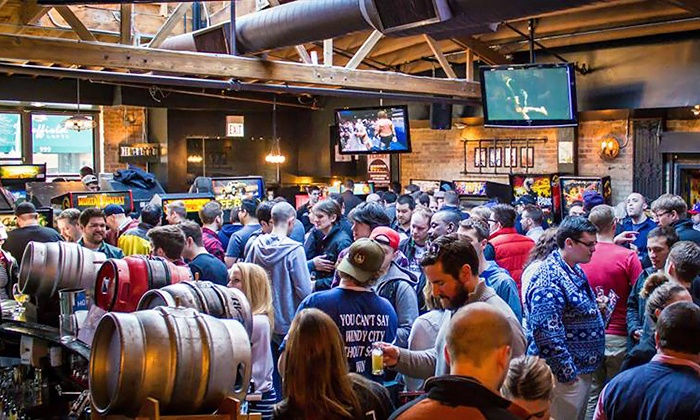 Firkin Beer Fest 2015 - Headquarters Beercade - River North: Firkin Beer Fest 2015 at Headquarters Beercade – River North on March 29 at Noon (Up to 21% Off)