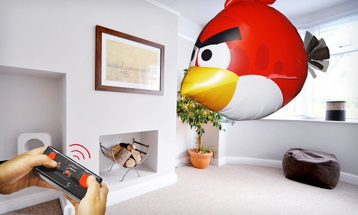 Angry Bird Remote-Controlled Air Swimmer: $29 for a Remote-Controlled Angry Birds Air Swimmer ($49.99 Value). Free Shipping and Free Returns.