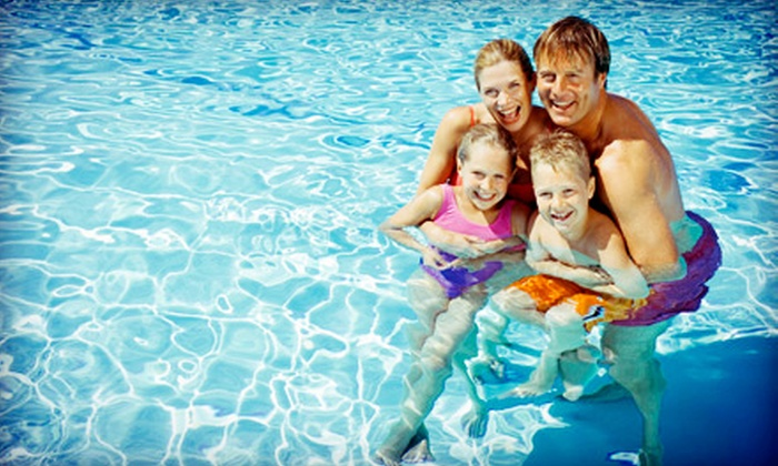 Groton Pool and Golf Center - Groton: Pool Pass for a Family of Four or Six Plus Hot Dogs and Sodas at Groton Pool and Golf Center (Up to 50% Off)