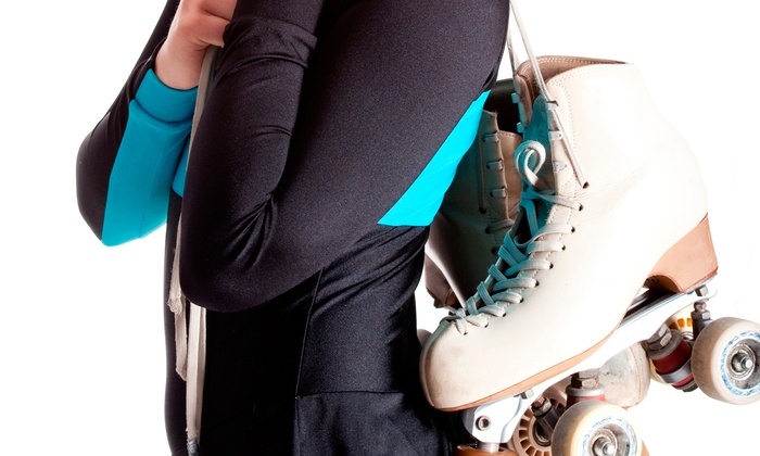 Roller Cave - Far Eastside: Roller-Skating with Skate Rentals, Pizza, and Drinks for Two, Four, or Six at Roller Cave (Up to 59% Off)