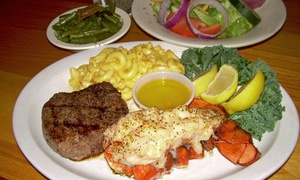 Tierney's Cafe & Tavern: American Food at Tierney's Café & Tavern (Up to 47% Off). Three Options Available.