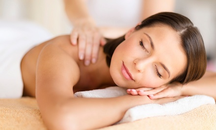 One 60-or 90-Minute Deep-Tissue Massage at The Hair Bar of Little Rock (Up to 59% Off)