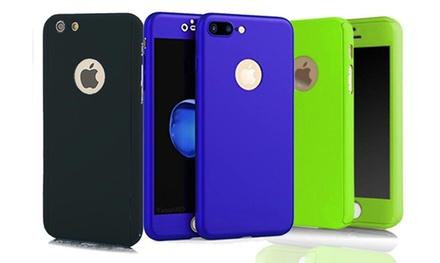 Funda protectora para iPhone 7 y 7 Plus con pantalla protectora