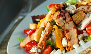 The Garden Grille & Bar: $16 for $30 Worth of American Food at The Garden Grille & Bar