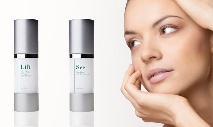 Ethos Collagen-Boosting Full-Face System: $39 for the Ethos Collagen-Boosting Full-Face System ($265 List Price)