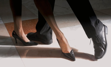 Beginner Dance Classes or Six-Week Ballroom Course for One or Two at David Miner Ballroom (Up to 58% Off)