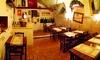 Cajo & Gajo - Roma: Menu di carne con bottiglia di vino per 2 o 4 persone al ristorante Cajo & Gajo a Trastevere (sconto fino a 75%)