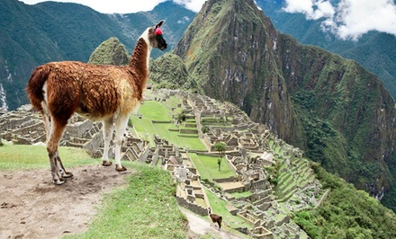 Groupon Deal: ✈  10-Day Tour of Peru with Air, Hotels, and Meals from Gate 1 Travel. Price/person Based on Double Occupancy.