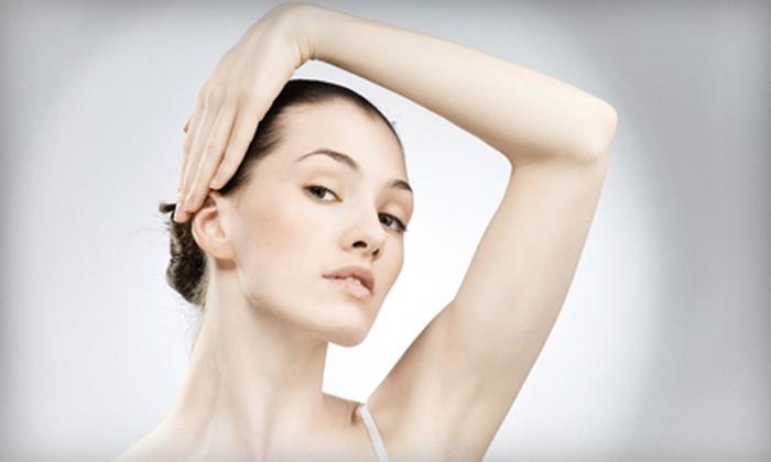 American Laser Med Spa - Midland: $99 for Six Laser Hair-Removal Treatments at American Laser Med Spa (Up to $1,680 Value)