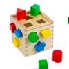 Melissa & Doug Classic Shape Sorting Cube