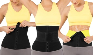 V Shape Sweat Belt Corset with Waist Trainer