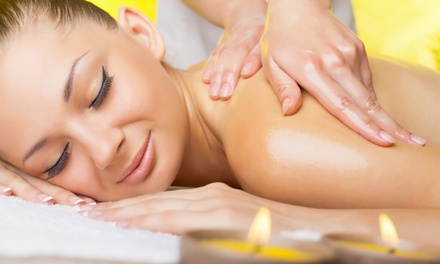 $49for a Raindrop-Therapy Spa Package with Massage and Oils at K&I Health and Beauty Spa ($125Value)
