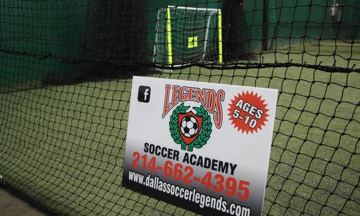 Happyfeet-legends Dallas Llc - Dallas: $76 for $139 Worth of Soccer — HappyFeet-Legends Dallas LLC
