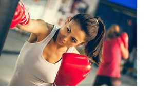 Up To 62% Off One Or Two Months Of Unlimited Kickboxing Classes With Gloves  At Tiger Rock Taekwondo