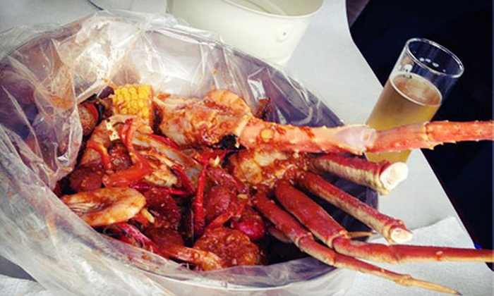 Seafood Bucket - ABC: Seafood Dinner for Two or Four at Seafood Bucket (Half Off)