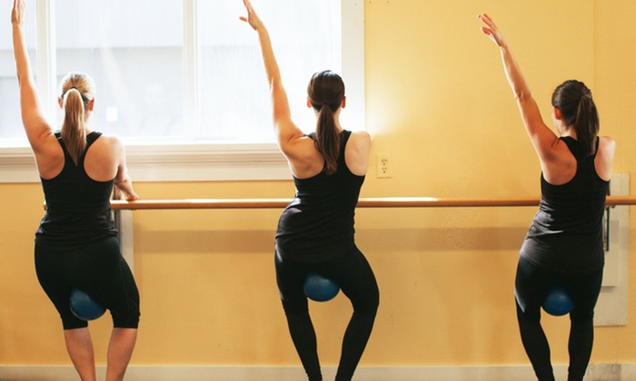 Glow Fitness - Downtown: 5, 10, or 15 Barre Fitness Classes at Glow Fitness (Up to 73% Off)