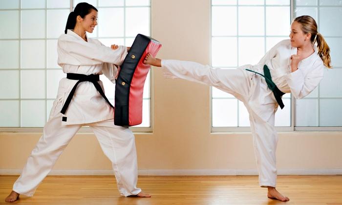 Hydra Taekwondo - Hillurst: 5 or 10 Just for Kicks Fitness Classes or Tae Kwon Do Classes at Hydra Taekwondo (Up to 67% Off)