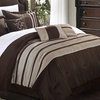 Torino Comforter Set with Sheets and Decorative Pillows