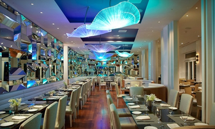 Atlantica @ The Allegria - Long Beach, NY: $53.99 for $100 Worth of New American Cuisine and Seafood for Two or More at Atlantica @ The Allegria