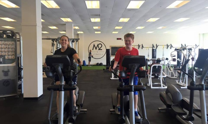 M2 Fitness - Lee Hill: Four Weeks of Gym Membership at M2 Fitness (52% Off)