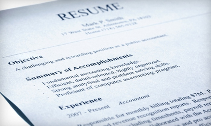 Smashing Resumes: $75 for a Professional Resumé Editing and Cover-Letter Writing from Smashing Resumes ($180 Value)