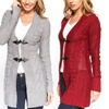 Women's Plus Size Toggle Cardigans