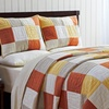 Up to 66% Off Gavin 100% Cotton Hand Quilted Quilt Sets