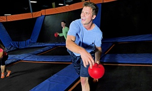 Sky Zone - Leetsdale: $16 for Two One-Hour Open-Jump Passes at Sky Zone - Leetsdale ($28 Value)