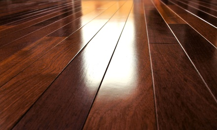 Hardwood Floor Cleaning or Tile and Grout Cleaning from Quality Cleaning 360 (Up to 56% Off)