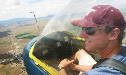 $99 for a 30-Minute High-Performance Glider Flight from Sundance Aviation ($151 Value)