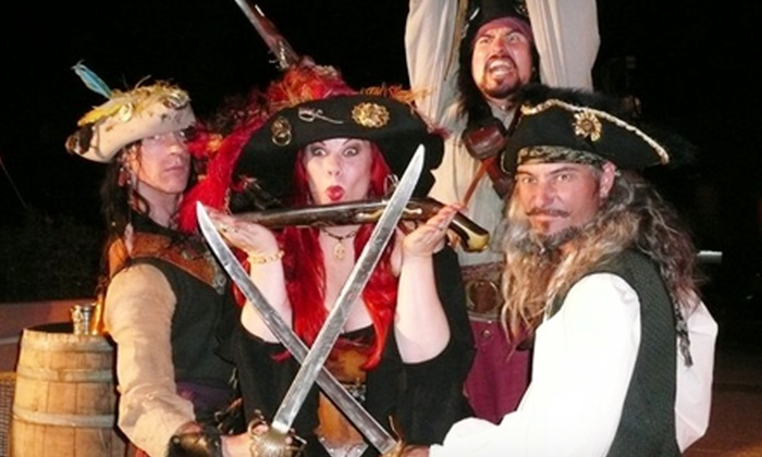 Capt. Jack's Pirate Ship Adventures - Virginia Beach: $18 for an Adults' Pirate Party Cruise for Two from Capt. Jack's Pirate Ship Adventures (Up to $36 Value)