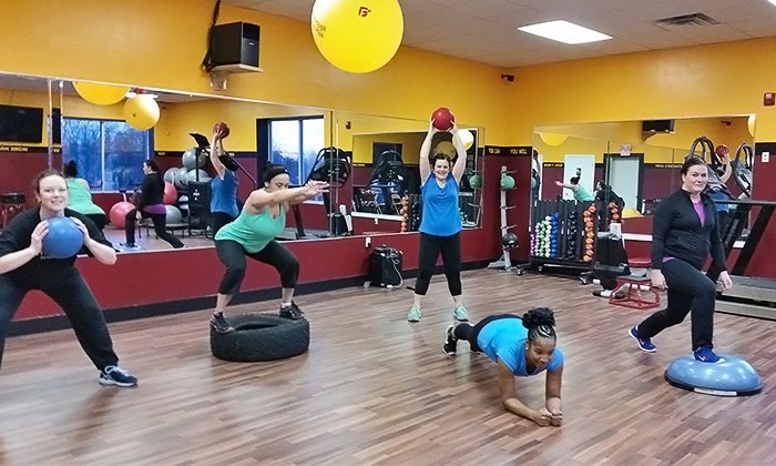 Breakthrough Fitness Plus - Breckwood Shoppes: 5- or 10-Class Fitness Pass or One Week of Boot-Camp Classes at Breakthrough Fitness Plus (Up to 78% Off)
