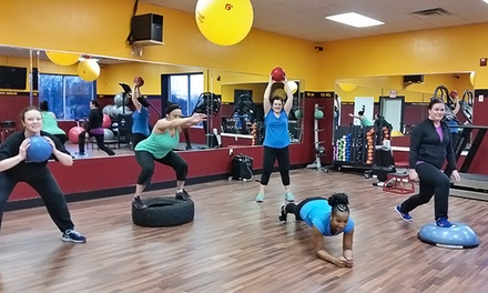 5- or 10-Class Fitness Pass or One Week of Boot-Camp Classes at Breakthrough Fitness Plus (Up to 78% Off)