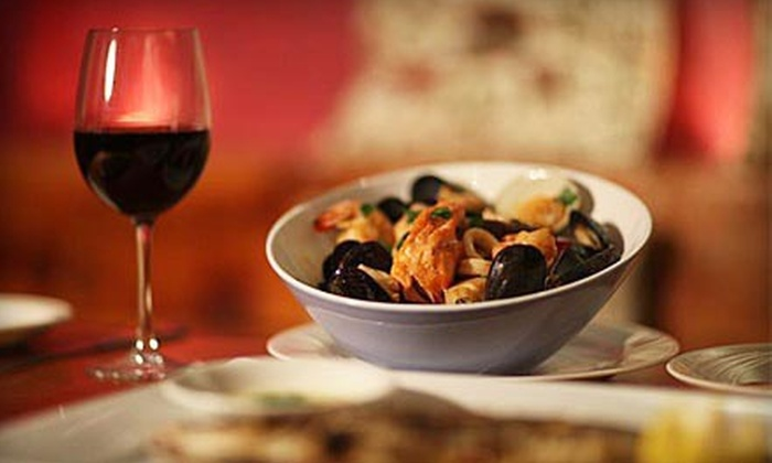 Cucina di Pesce - Bowery: Three Course Italian Prix Fixe Dinner for Two or Four with Dessert and Wine at Cucina di Pesce (Up to Half Off)
