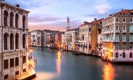 ✈ Venise : 2 ou 3 nuits en hôtel 4* avec formule petit déjeuner et vols A/R depuis Paris Beauvais