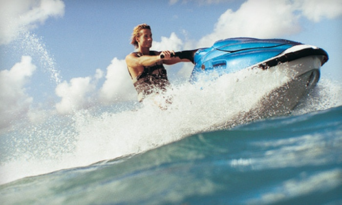 Westlake Watersports - Picton: Camping and Jet Ski Rental for One or Two from Westlake Watersports (53% Off)