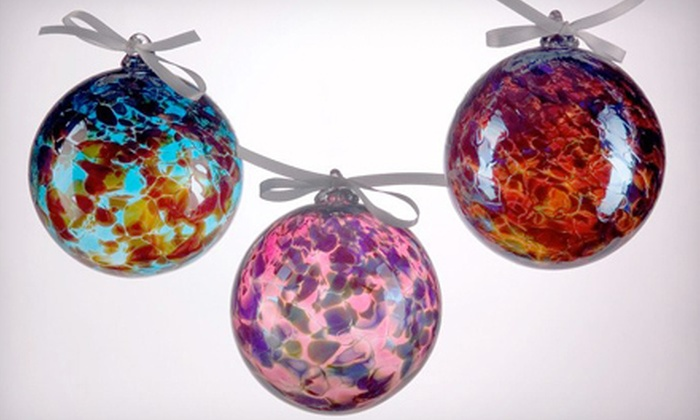 Hyland Glass - Butchertown Neighborhood: $20 for a Blow-Your-Own-Glass-Ornament Class at Hyland Glass ($40 Value)