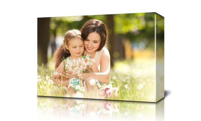 """Fabness: $25 for a Custom 16""""x20"""" Canvas Photo Print from Fabness ($129 Value)"""