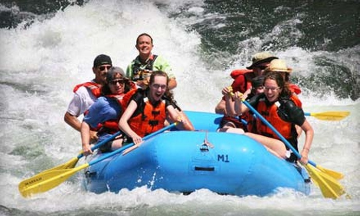 Mariah Wilderness Expeditions - Multiple Locations: One-Day Rafting Trip or Two-Day Winery Tour and Rafting Trip from Mariah Wilderness Expeditions (Up to 47% Off)