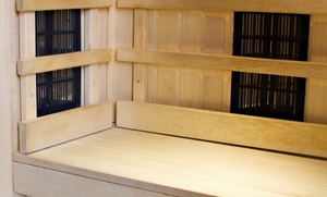 Hullistic Health: One or Six 45-Minute Infrared-Sauna Sessions for One or Two at Hullistic Health (Up to 55% Off)