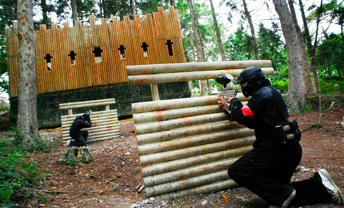 Paintballing With Light Lunch from €5 at Horizon Paintball