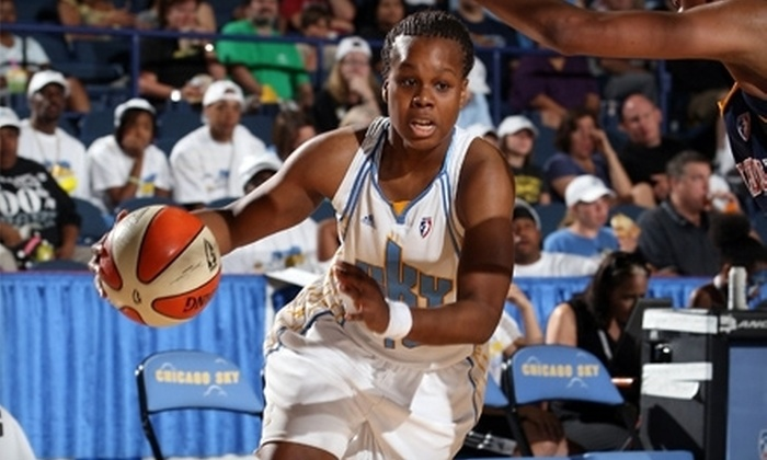 Chicago Sky - Rosemont: Chicago Sky Basketball Game for Two at Allstate Arena in Rosemont (Up to 59% Off). Six Options Available.