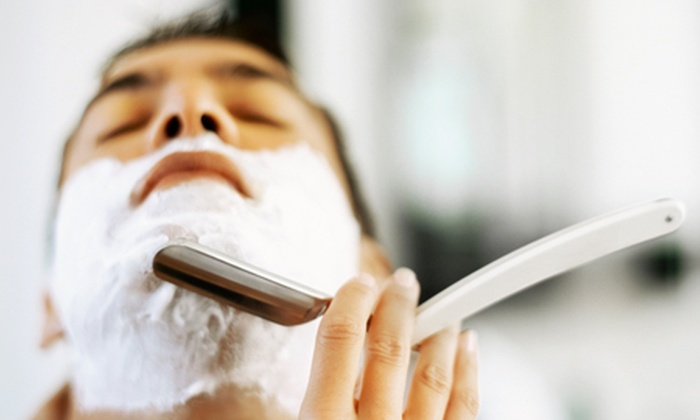 Clip Barbers - Multiple Locations: Men's Grooming: Hot Towel Shave, Hair Cut, Head Massage and More for £18 (60% Off)