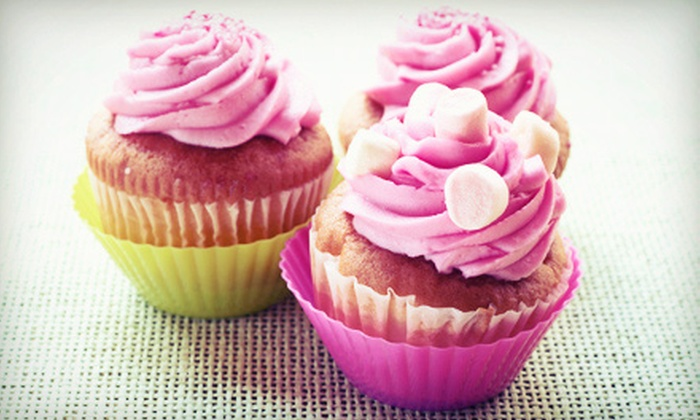 CB's Cupcakes - Multiple Locations: Cupcakes and Treats at CB's Cupcakes (Half Off). Two Options Available.