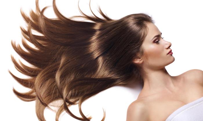 Brazilian Blowout with Haircut - Simply Samantha | Groupon